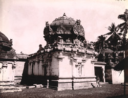 Rear elevation of Shiva Temple at Tirupantiruti